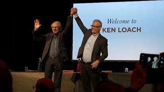 Ken Loach lors du Festival Lumière 2019