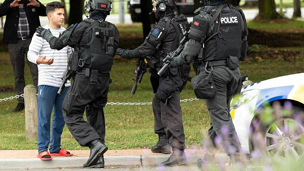 Armed Offenders Squad following the Christchurch shooting