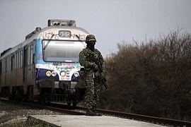 نیروهای امنیتی یونان