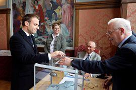 رای امانوئل ماکرون، رئیس جمهوری فرانسه در انتخابات پارلمان اروپا