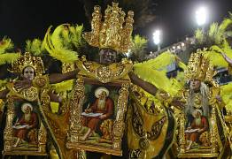 La escuela de samba de Salgueiro. 3 de marzo de 2019.
