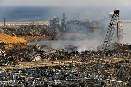 Эпицентр взрыва находился на складе у причалов.
