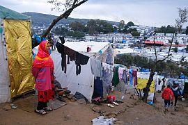 زندگی روزمره پناهجویان در مرز ترکیه با یونان
