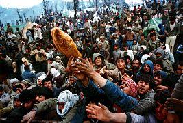 آوارگان کرد در مرز عراق و ترکیه در سال ۱۹۹۱