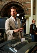 Dutch politician Thierry Baudet of the Forum for Democracy casts his ballot