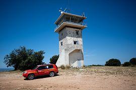 La vigie d'Arbois près d'Aix-en-Provence, dans le sud de la France le 7 juillet 2020