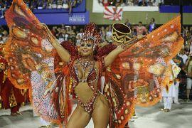 Reina de la Batucada Viviane Araujo. Río de Janeiro, Brasil,3 de marzo 2019