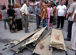 По официальным данным, погибли 314 заложников, большинство из них дети, а также 19 бойцов спецназа, добровольцев, спасателей и сотрудников МВД.