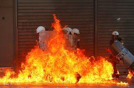 تظاهرات سال ۲۰۱۲ در آتن، پایتخت یونان