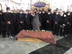 محمود دعایی نماز میت را اقامه کرد
