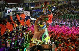Sambódromo de Río de Janeiro, Brasil. 3 de marzo de 2019.