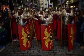 مسيرات الملوك المجوس التقليدية في إسبانيا