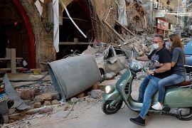 Ущерб от взрыва в Бейруте оценивается в миллиарды долларов США.