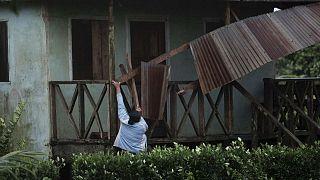 Sturmschäden in Nicaragua