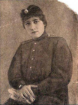 First woman commissioned as a military pilot: Eugenie Shakhovskaya