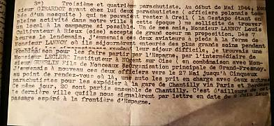 Extract from a report by the French Resistance