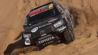 سائقون إسرائيليون شاركوا في رالي دكار بالسعودية