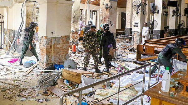Ocho detenidos por los atentados de Sri Lanka que han dejado más de 200 muertos
