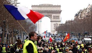 Yellow vests in Paris