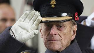 Fülöp herceg 2013-ban egy, az I. világháborút lezáró békeszerződés évfordulója alkalmából rendezett megemlékezésen
