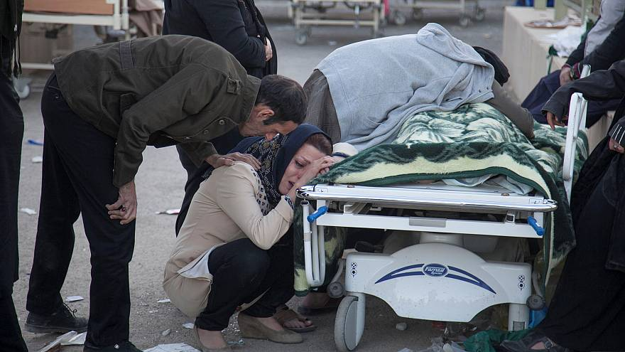 Iran-Iraq earthquake casualties