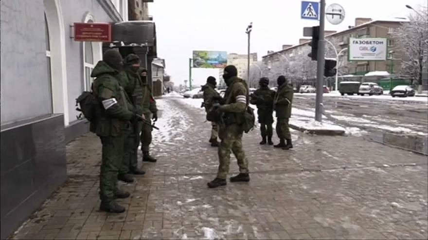 """Разборки"" в Луганске"