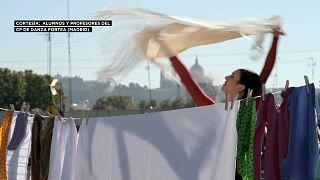 El vídeo realizado por alumnos y profesores de un conservatorio madrileño