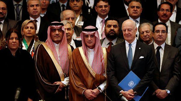 Rencontre de l'opposition syrienne à Ryad