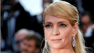 Uma Thurman hits out at Harvey Weinstein in Thanksgiving #MeToo message