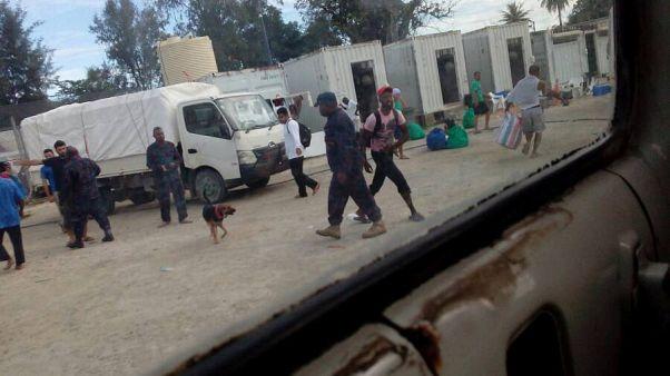 Manus, completato lo sgombero dei richiedenti asilo