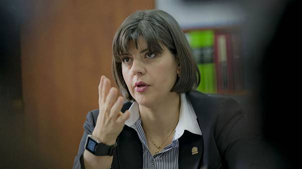 Laura Kovesi, head of Romania's anti-corruption directorate (DNA)