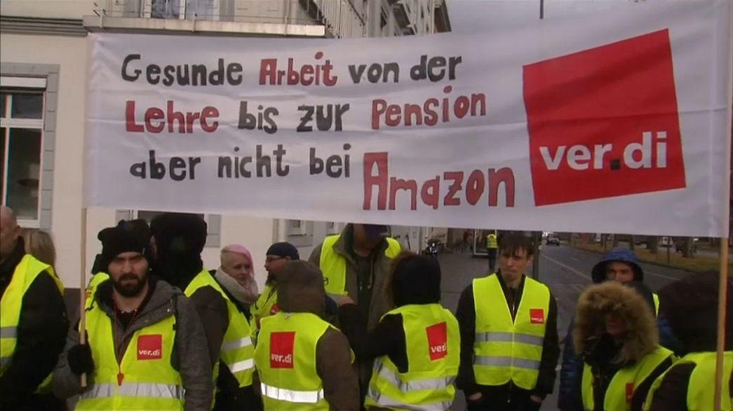 Schwarzer Freitag für Amazon - 2300 deutsche Mitarbeiter streiken