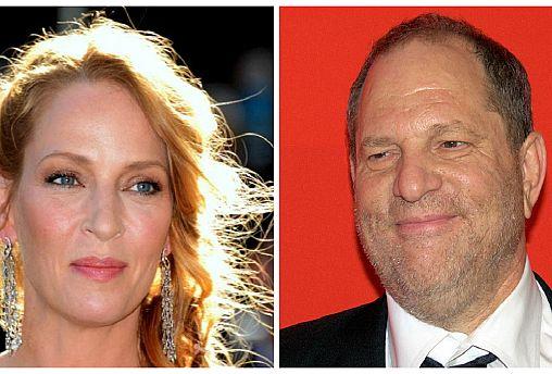 Uma Thurman arrasa Harvey Weinstein