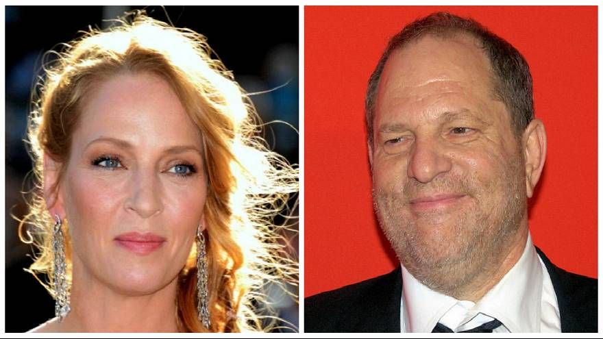 Uma Thurman e Harvey Weinstein
