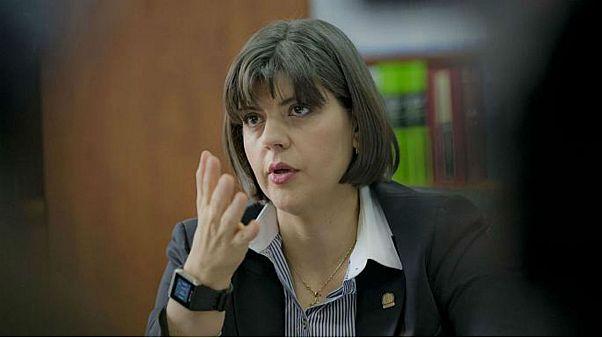 Laura Kovesi, head of Romania's anti-corruption directorate (DNA)