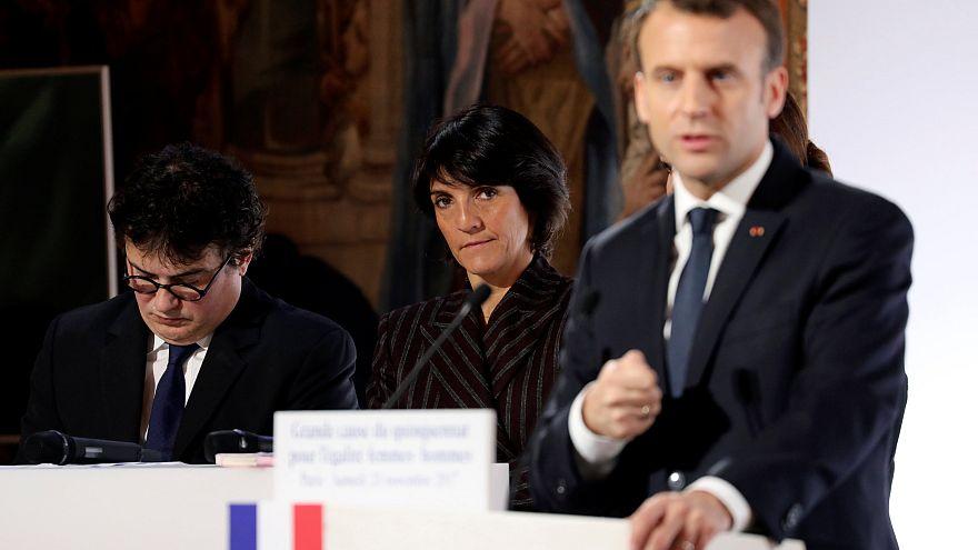Macron_Women_Violance