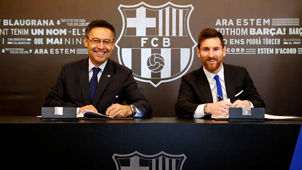 Barcellona, Messi rinnova fino al 2021. Clausola da 700 milioni di euro