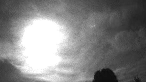 A fireball falls over Wilcot, England