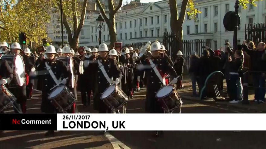 للمرة الأولى، البحرية البريطانية تشارك في عرض  تغيير الحرس الملكي