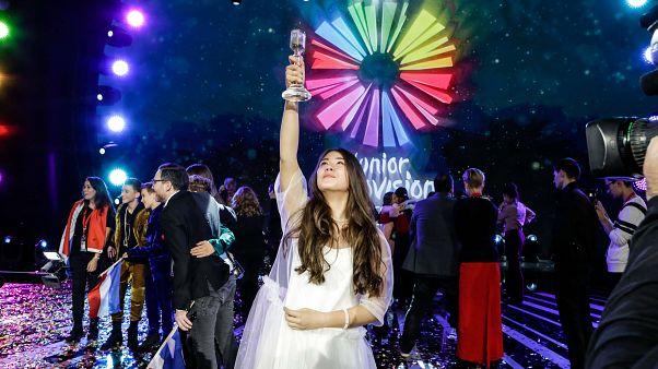 Russia's Polina Bogusevich wins Junior Eurovision Contest
