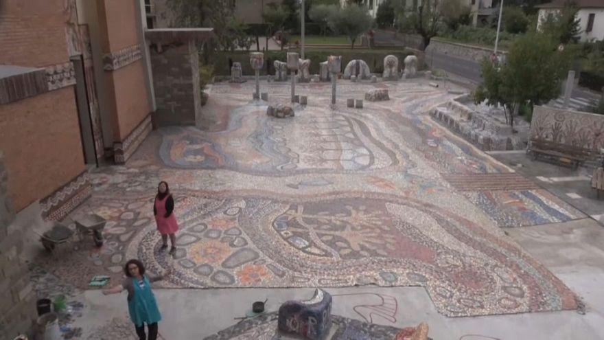 In Italia si realizza il più grande mosaico al mondo