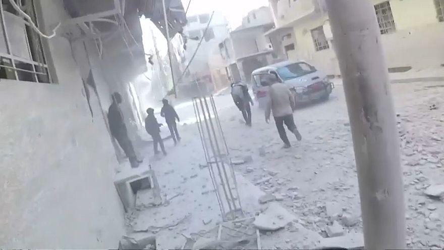 Десятки жертв авиаударов в Сирии