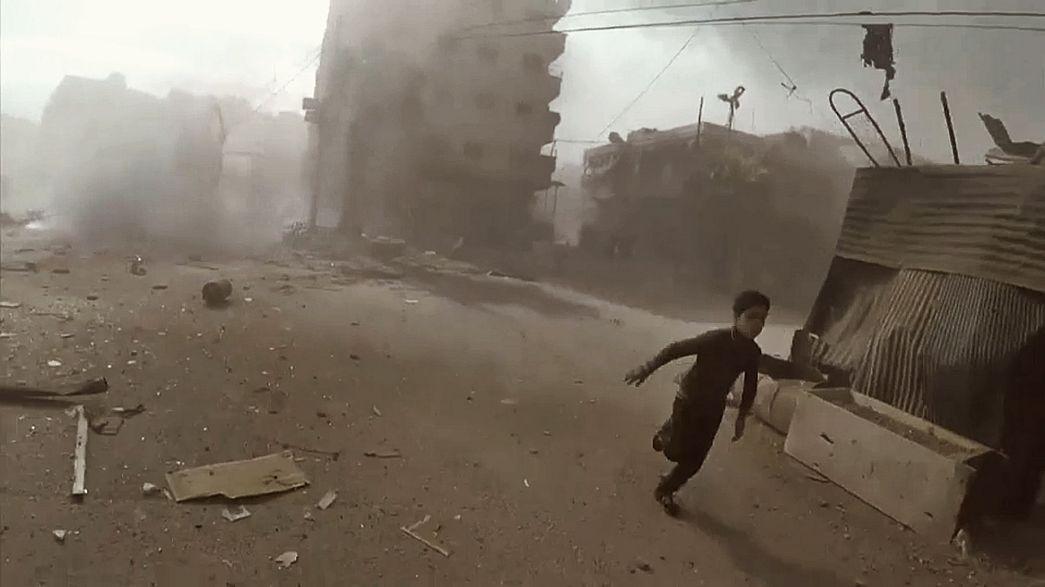 Suriye: Rus hava saldırısında en az 53 sivil hayatını kaybetti