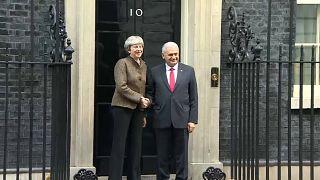 Başbakan Yıldırım İngiltere Başbakanı Theresa May ile görüştü