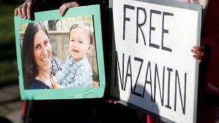Auf der Solidaritätsdemo für Nazanin Zaghari-Ratcliffe