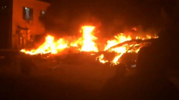 مقتل أربعة أشخاص في انفجار مبنى بمدينة يافا