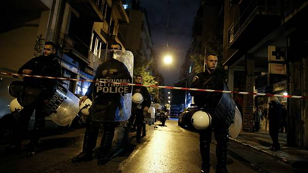 Atina'da terör operasyonu: 9 kişi gözaltında