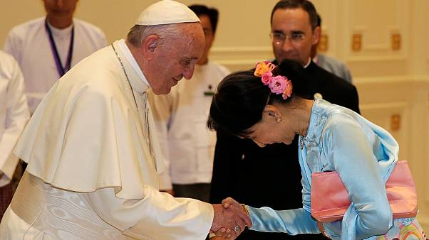 سفر پاپ فرانسیس به میانمار