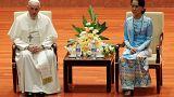 البابا ومسلمو الروهينغا وصمت العالم الإسلامي