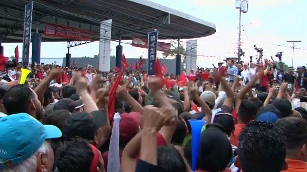 Impasse político nas Honduras